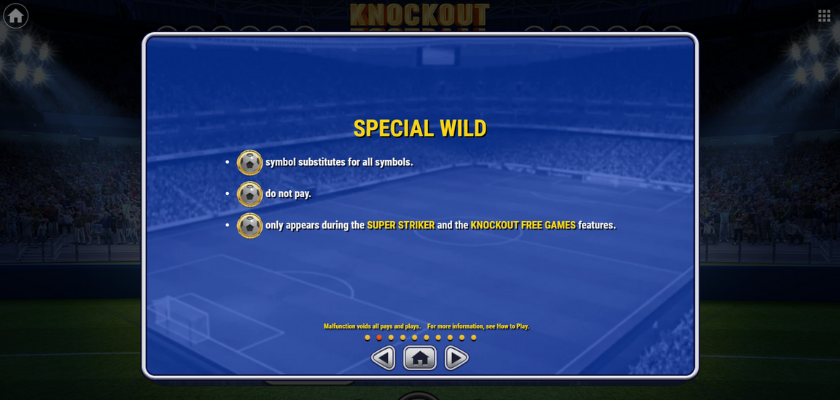 Knockout Football - features