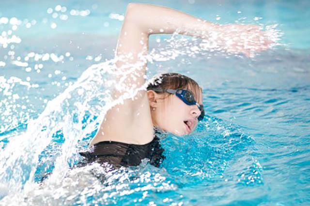 ท่าว่ายน้ำที่ใช้กันเป็นประจำ
