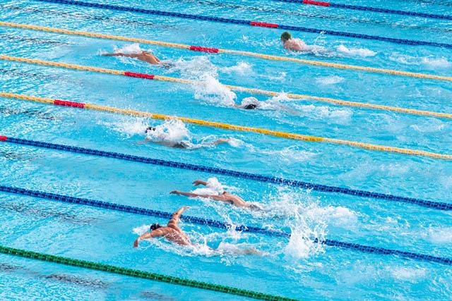 ด้านวิชาชีพนักว่ายน้ำ